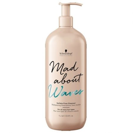 Mad About Waves Shampoing Sans Sulfate - Ondulations 1000ml