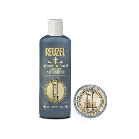 Kit Reuzel- Mousse Astringente 200ml + Crème à Raser 30g